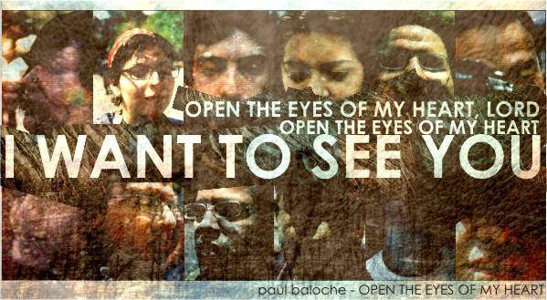 4th Sunday of Lent – Open our eyes Lord